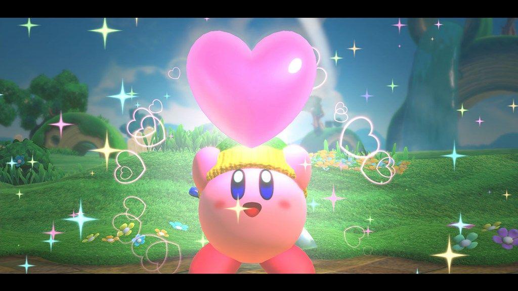 kirby star allies heart friends
