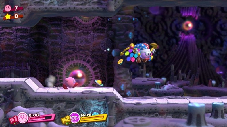 kirby star allies cave stage