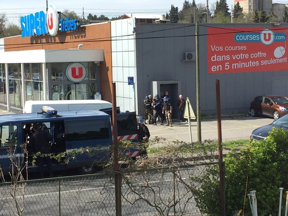 Hostage situation in a supermarket in Trebes, Aude, France