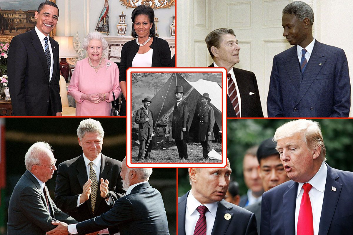 In Pictures: Tallest U.S. Presidents in History  In Pictures: Ta...