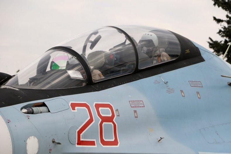 Russian fighter jet Syria