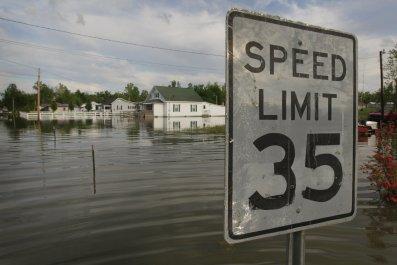 Ohio River flooding 2011