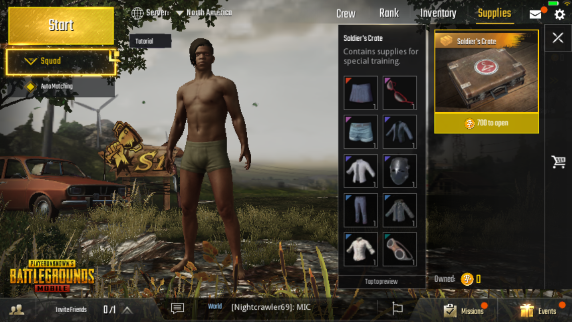 PUBG Mobile' Guide: How to Get Clothes, Name Change & Use