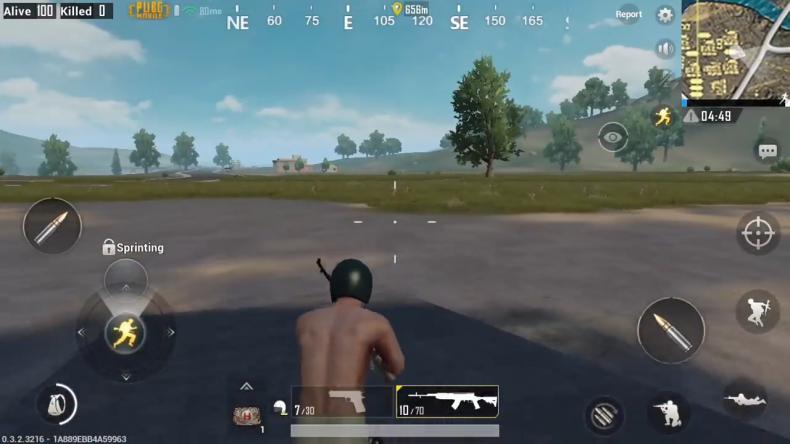 'PUBG Mobile' Gameplay