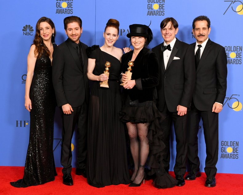 'Mrs. Maisel' wins at Golden Globes