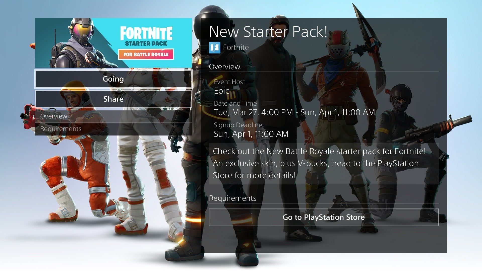 'Fortnite' Battle Royale Starter Pack Release Date: Rogue ...