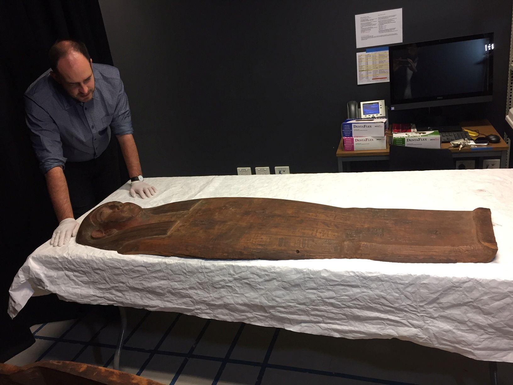 Ancient Egypt mummy