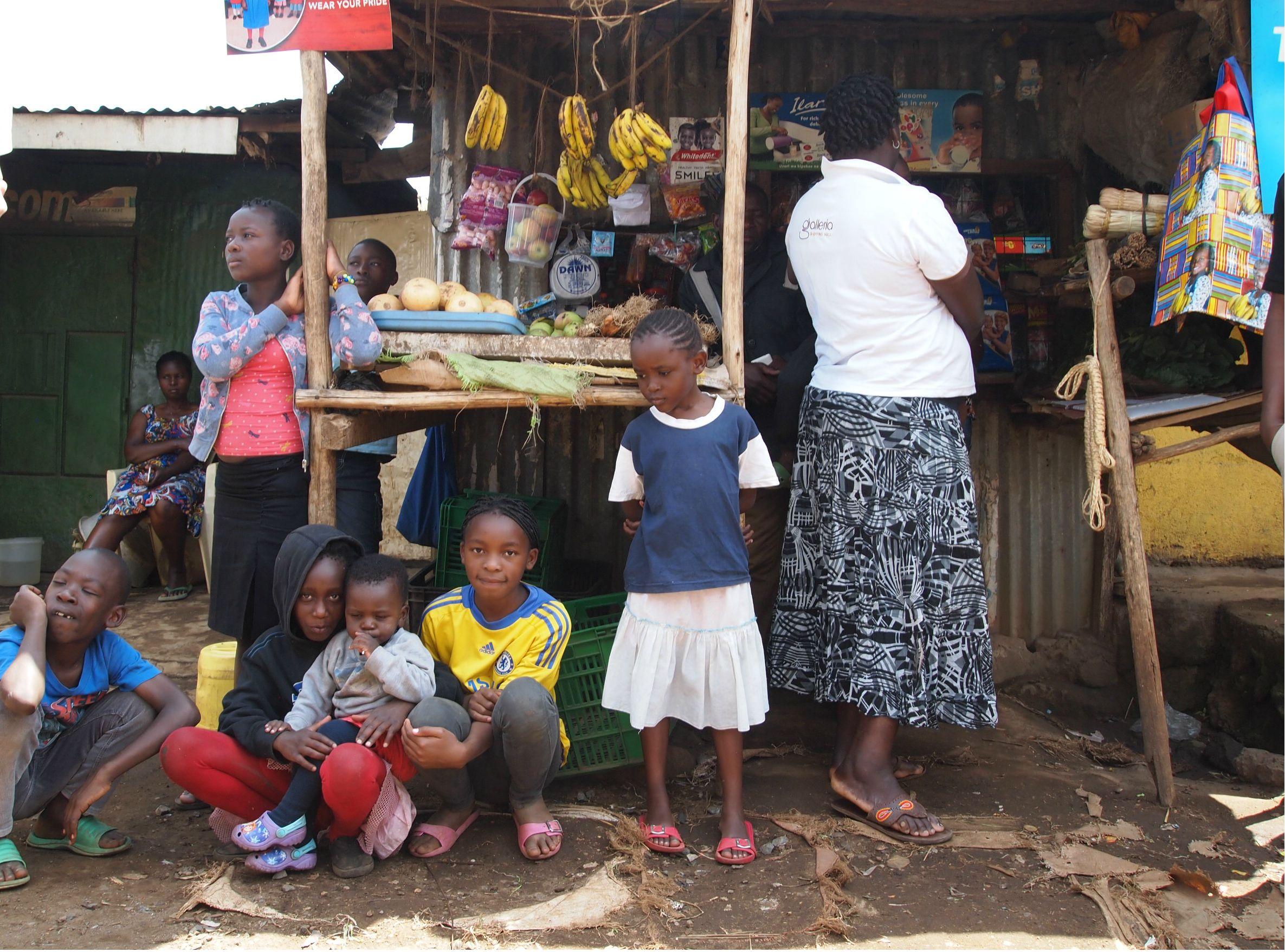 nairobi kenya slums mastercard kionect