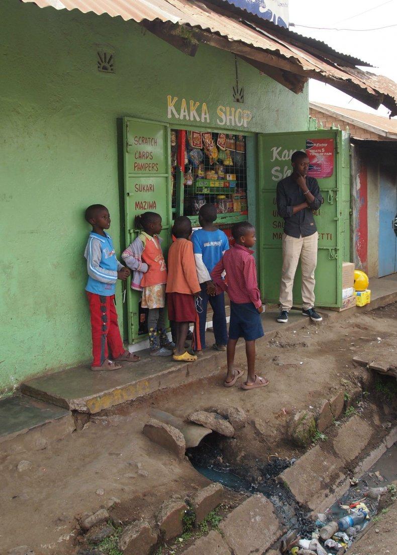 mastercard kionect nairobi slums kaka