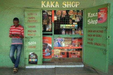 kenya nairobi slum mastercard kionect