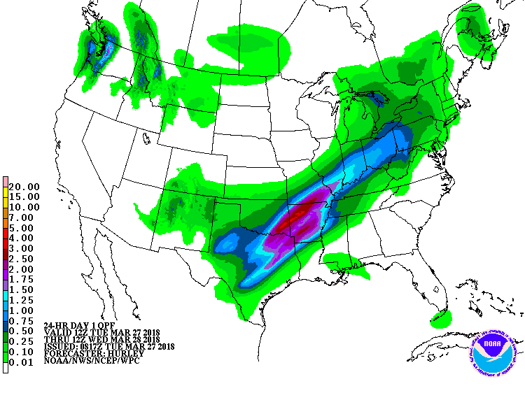 Severe Storms in Central U.S. Could Cause Flash Floods, Weather ...