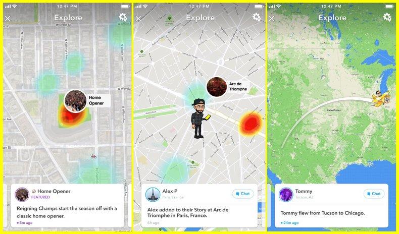 snap map explore