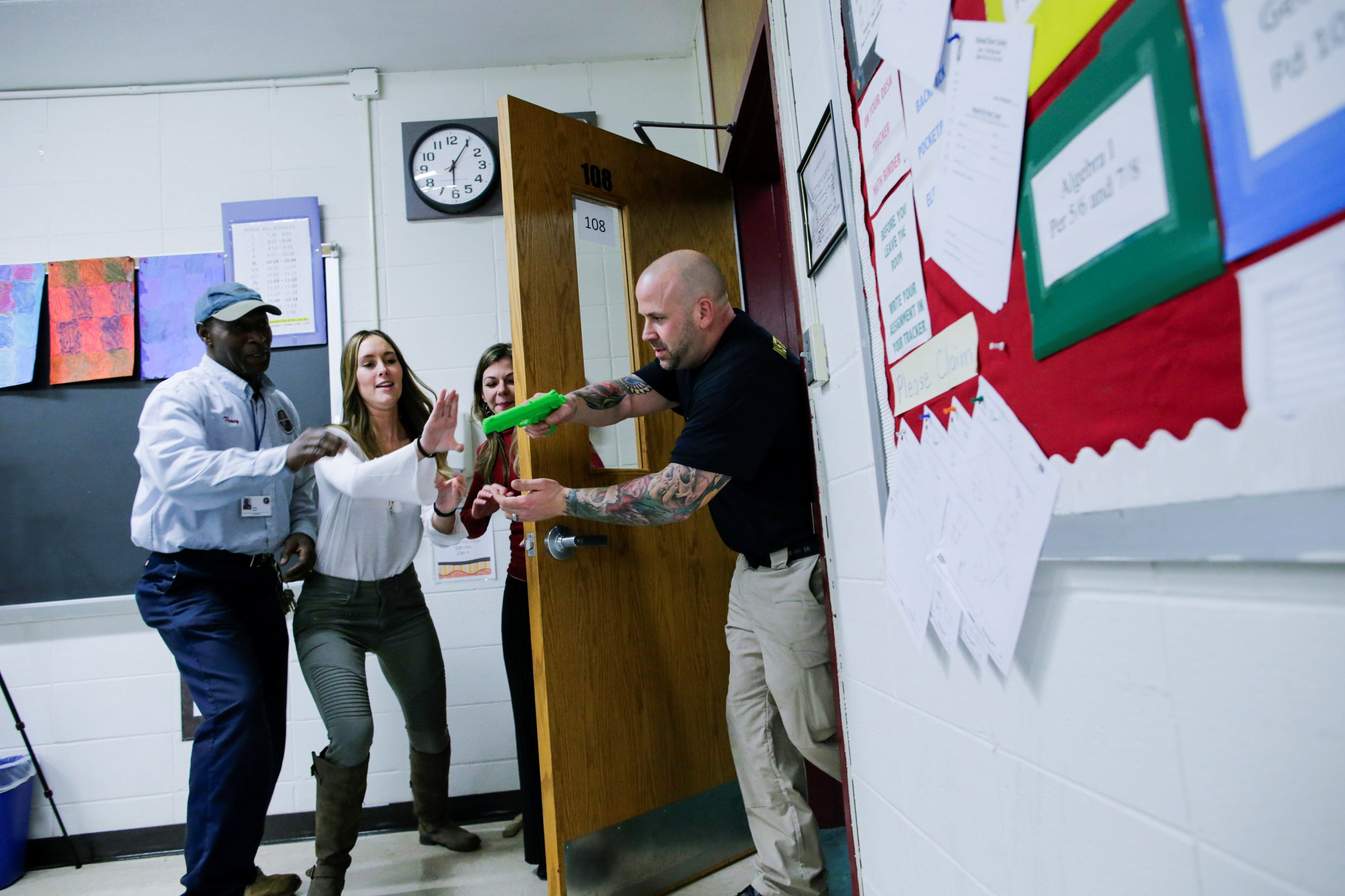 School Shooter Training