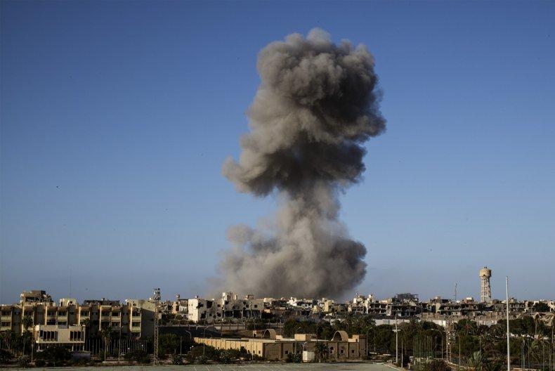Airstrike in Libya