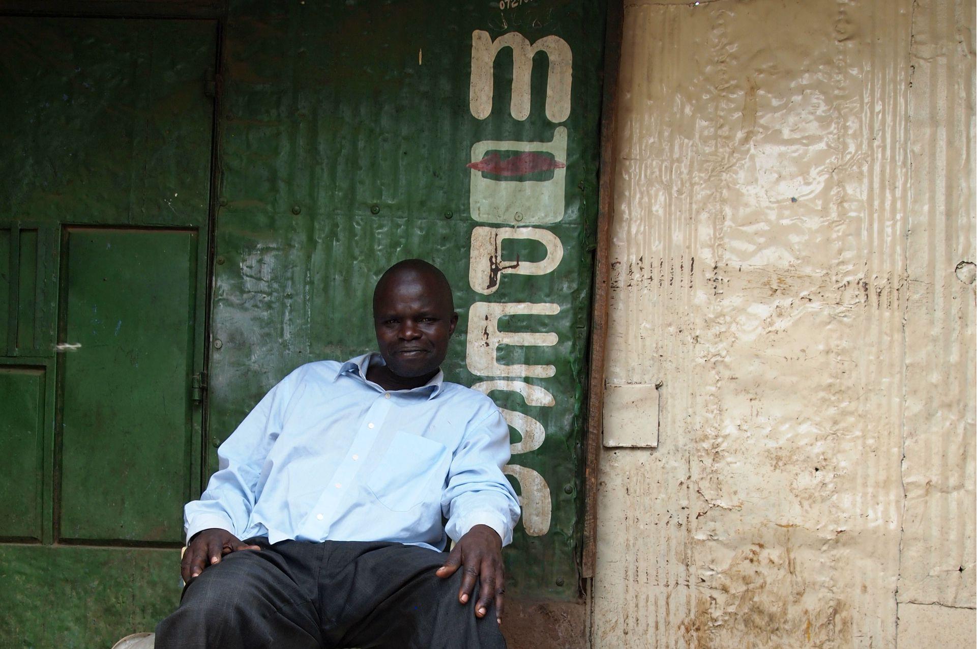 m-pesa kenya nairobi slum