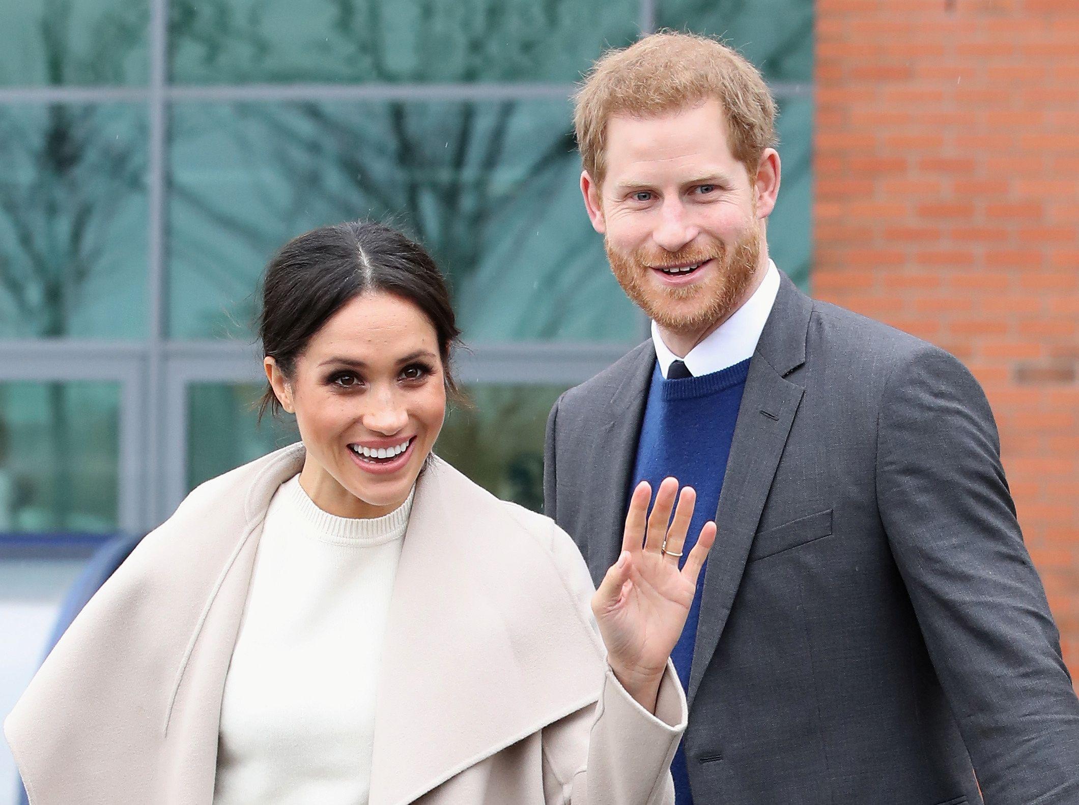 Trevor Rees Jones Invited Royal Wedding: Meghan Markle And Prince Harry Wedding Invitations Give