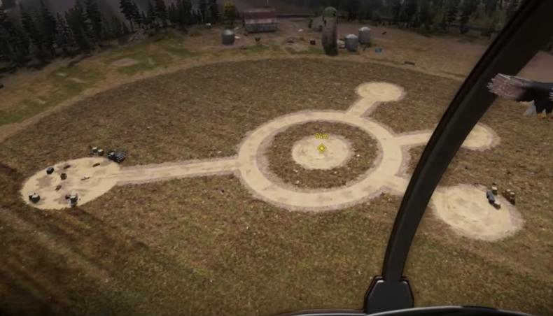 far cry 5 megapulser alien gun find objects close encounters crop circle guide