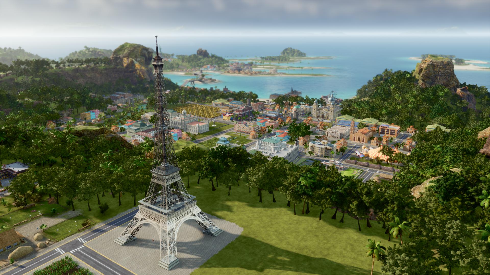 Tropico6 eiffel tower