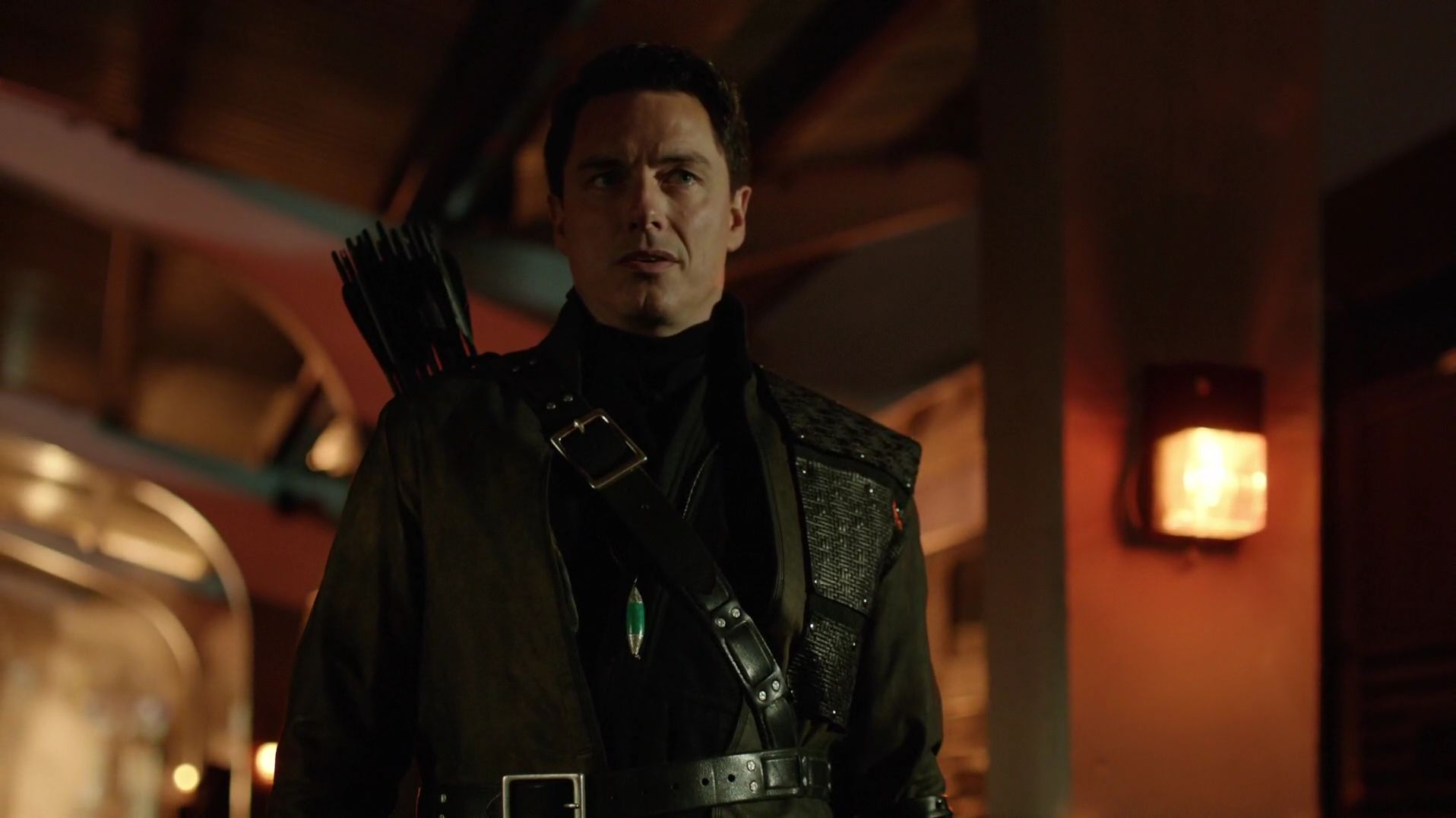 malcolm merlyn alive arrow season 6 lazarus pit thanatos guild