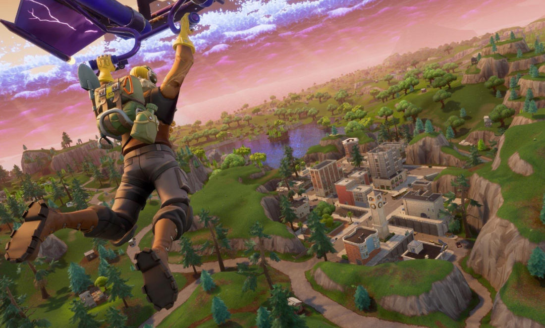 Fortnite Flyover comet theory