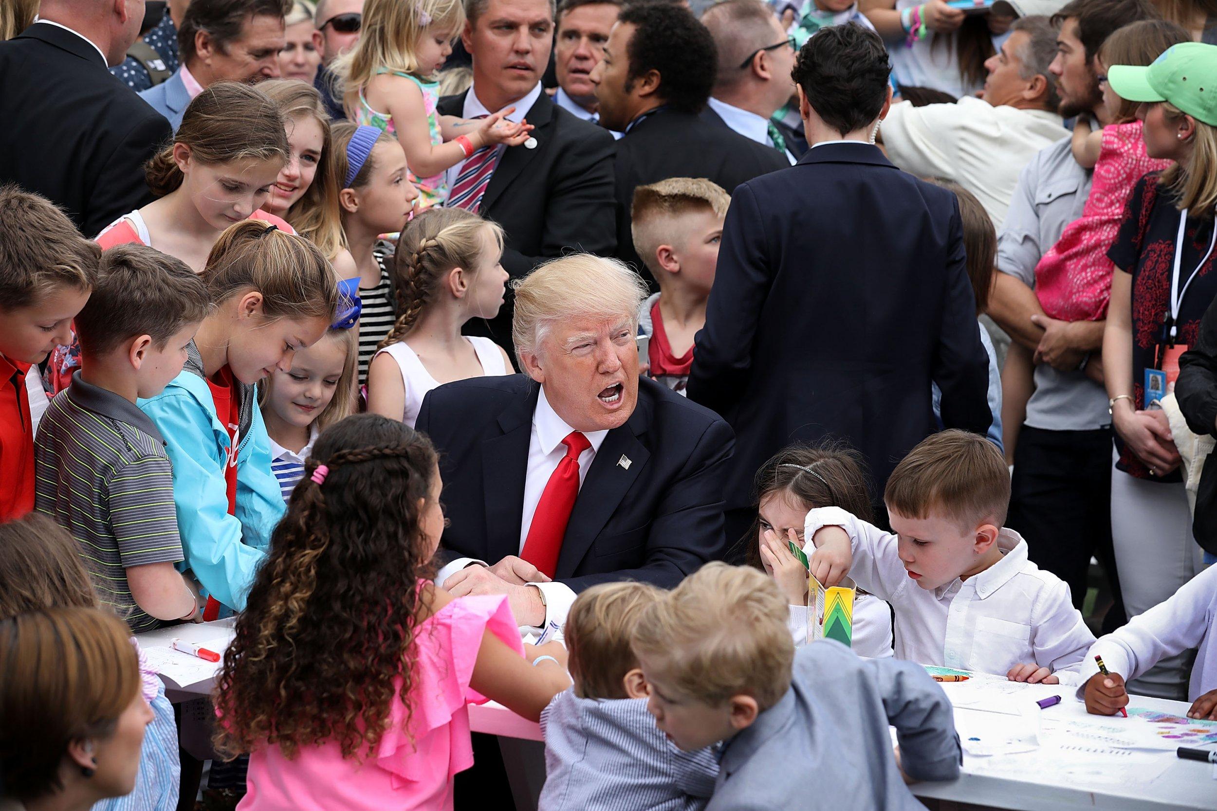 Trump Egg Roll 2017