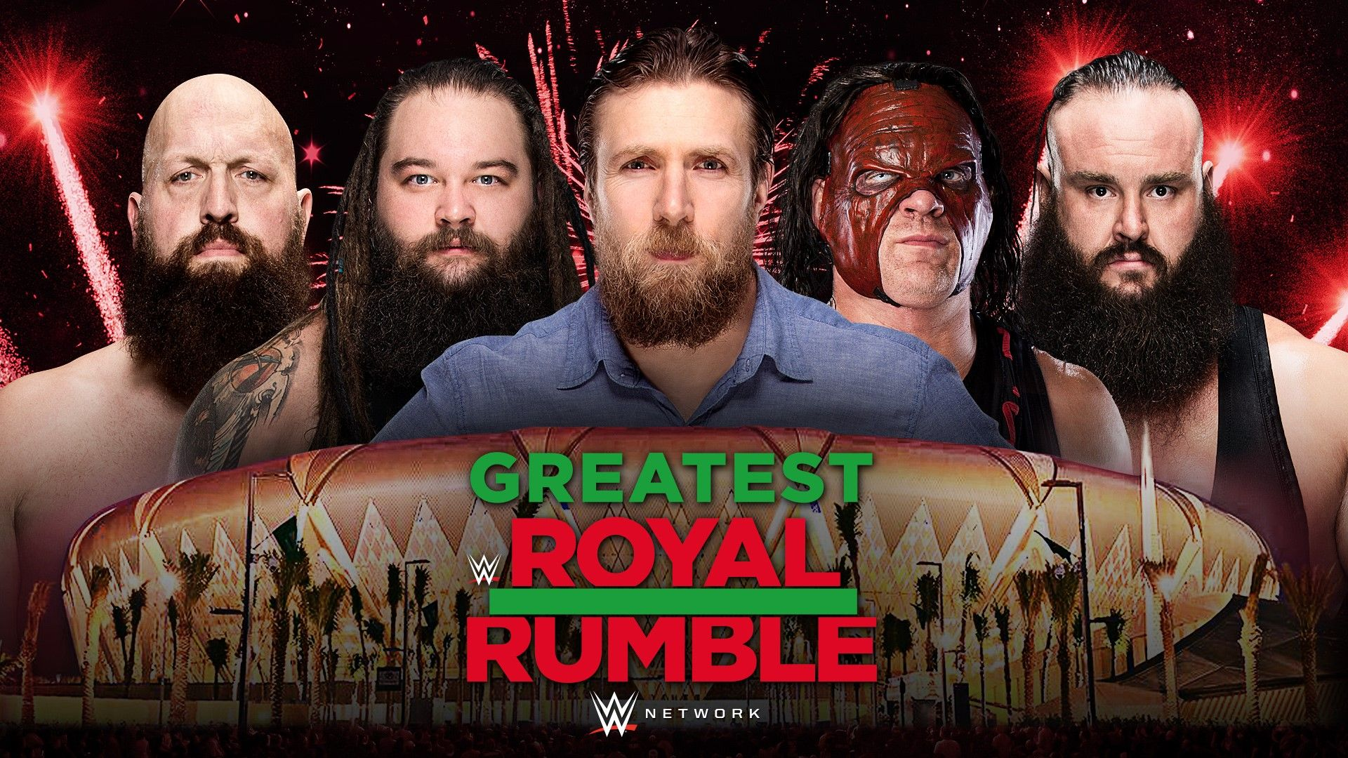 greatest royal rumble wwe first five