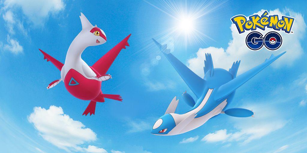 legendary-latios latias pokemon go
