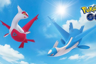 legendary-latios latias pokemon go