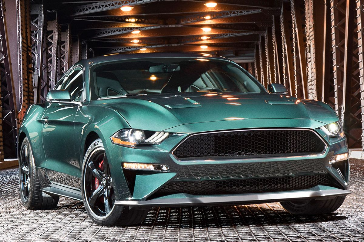 ford mustang 2019 bullitt in pictures check out latest limited edition. Black Bedroom Furniture Sets. Home Design Ideas