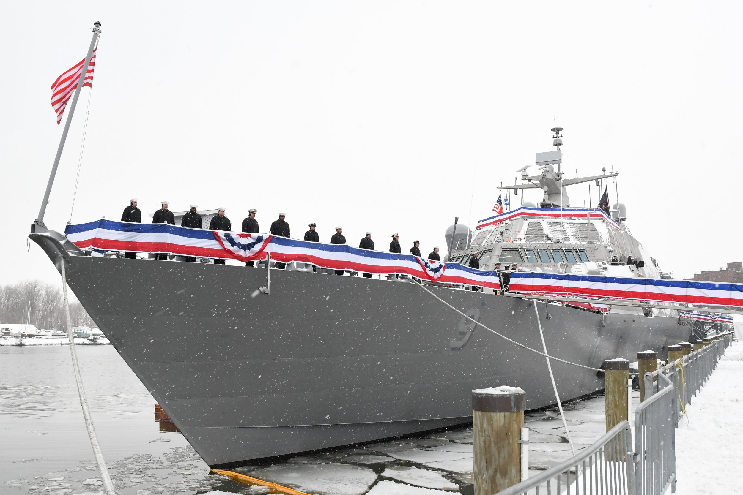 USS Little Rock Commissioning
