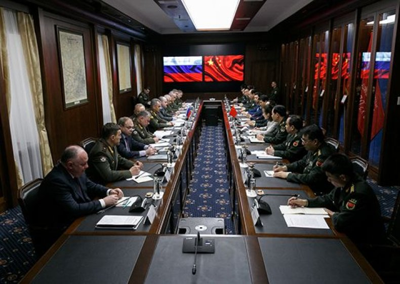 RussiaChinamilitarymeeting