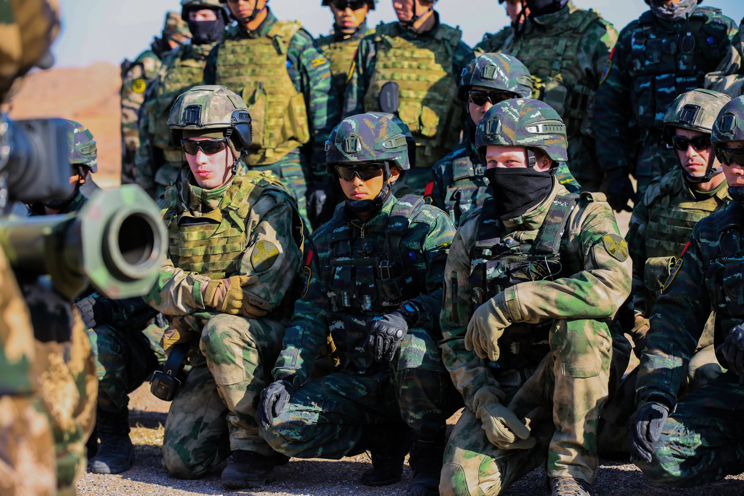 China Military Tells Russia 'We've Come to Support You ...