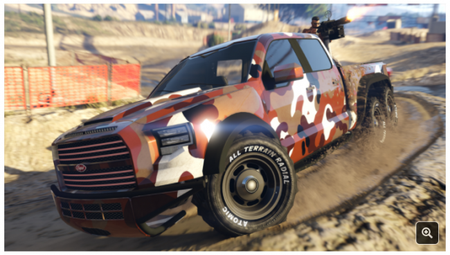 GTA Online' Adds Target Assault Races and Vapid Caracara