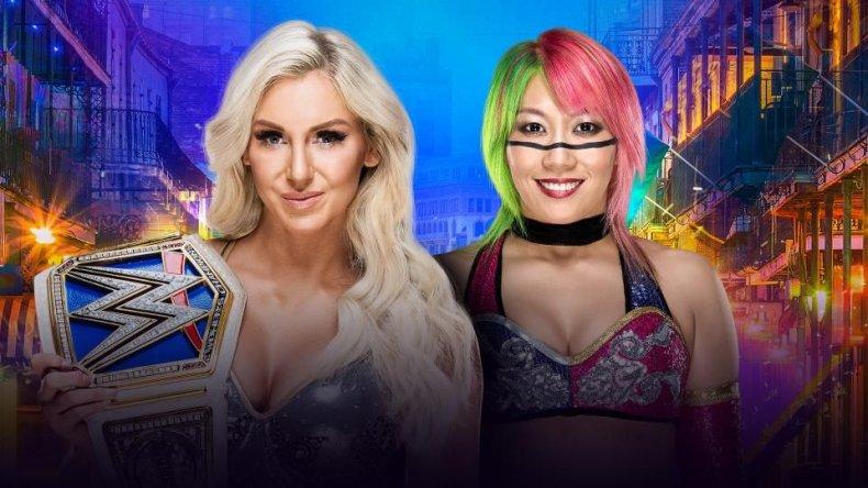 charlotte vs asuka WrestleMania 34
