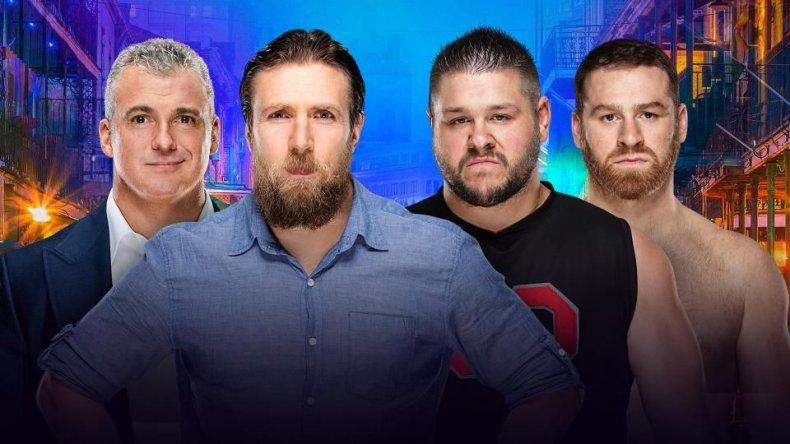 daniel bryan shane mcmahon vs ko sami WrestleMania 34
