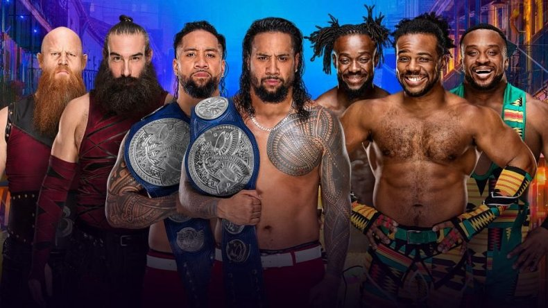 bludgeon brothers vs usos vs new day WrestleMania 34