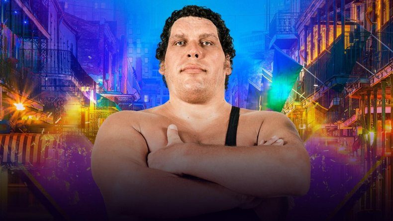 andre the giant battle royal WrestleMania 34