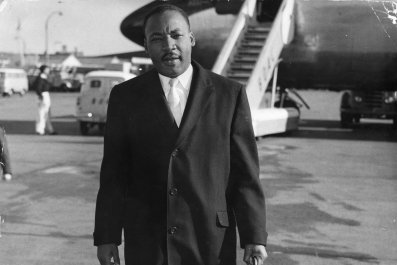 martin luther king jr at airport