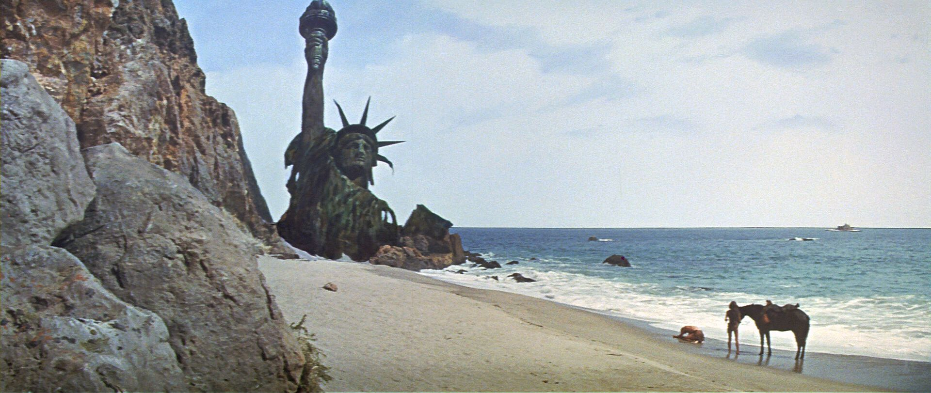 Image result for statue of liberty planet of apes
