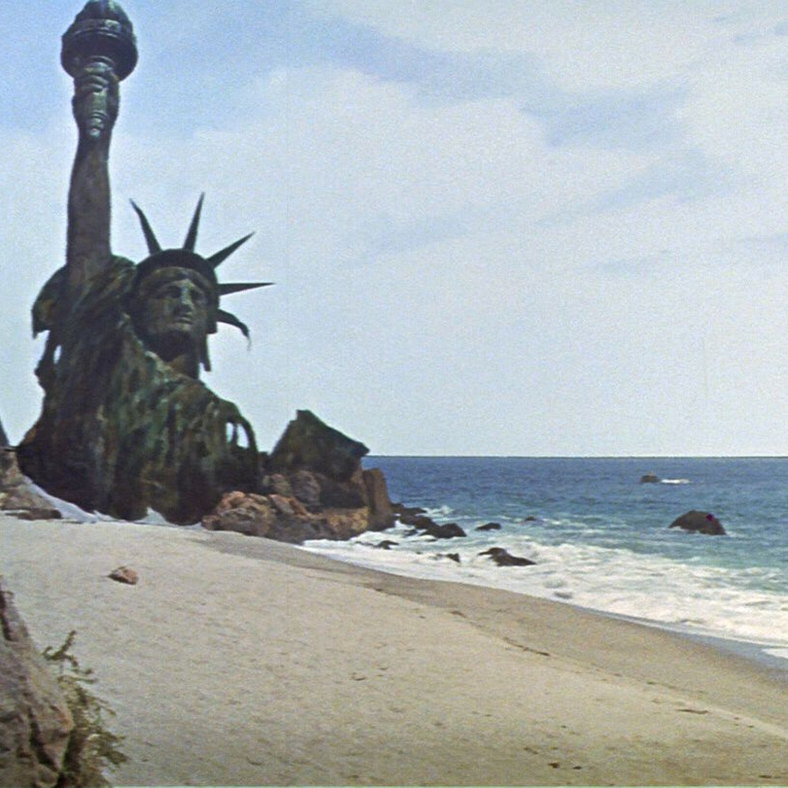 Image result for statue of liberty planet of the apes