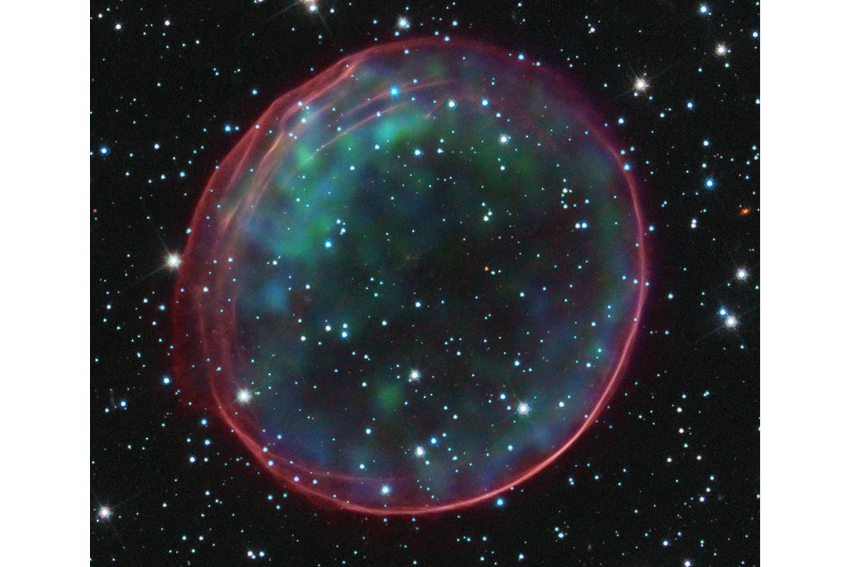 09 Optical and X-ray Composite Image of SNR 0509-67