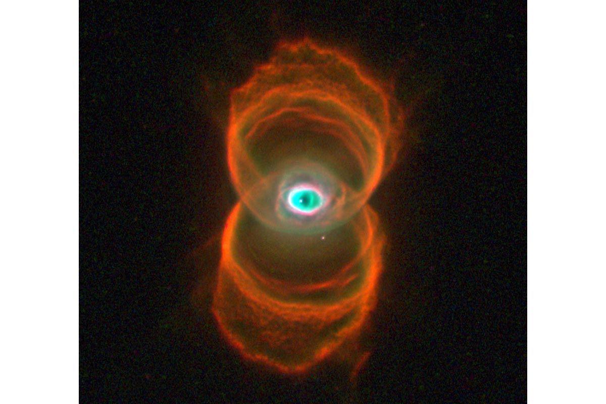 11 Hourglass Nebula
