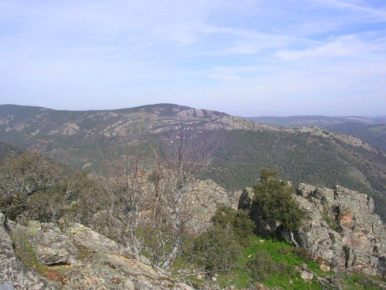 Parque Natural de Despeñaperros Sierra Morena Spain