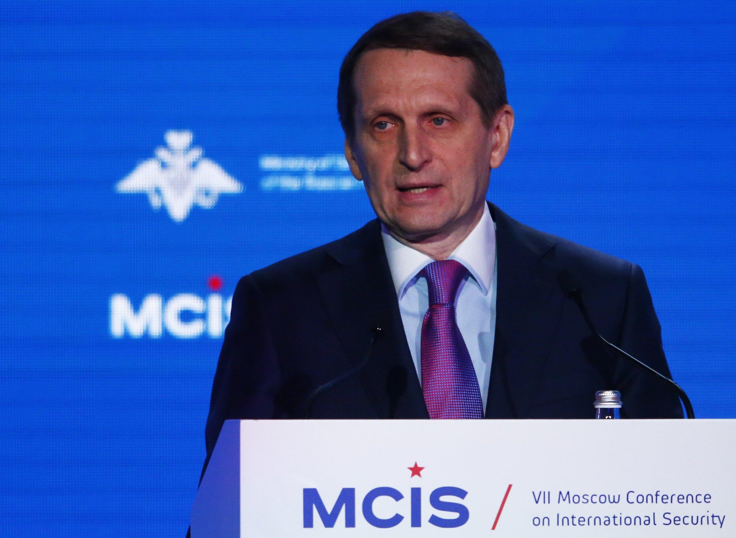 Sergei Naryshkin Russia SVR