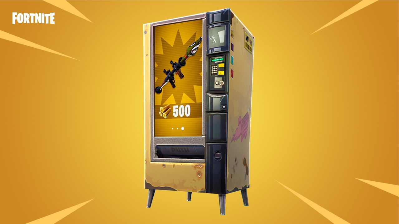 fortnite vending machine locations how to find a. Black Bedroom Furniture Sets. Home Design Ideas