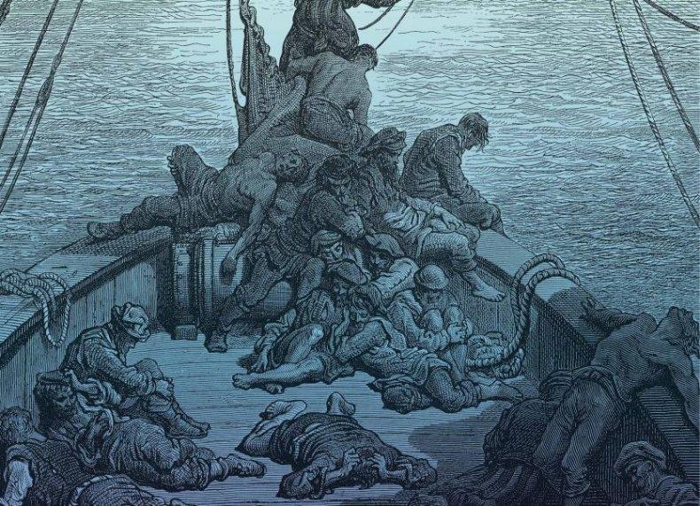 the-terror-scurvy-gustave-dore,rime-ancient-mariner