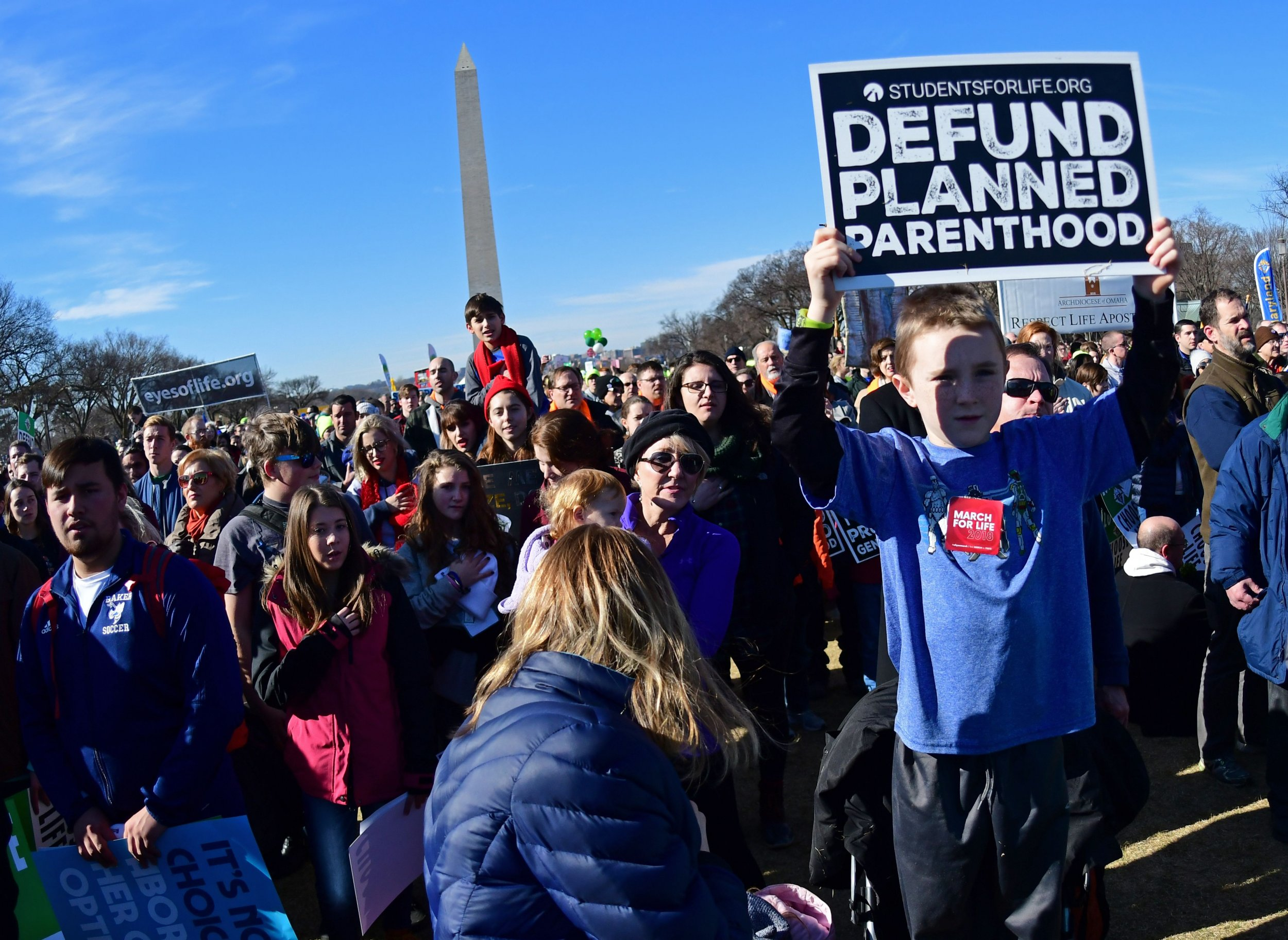 anti-abortion march for life