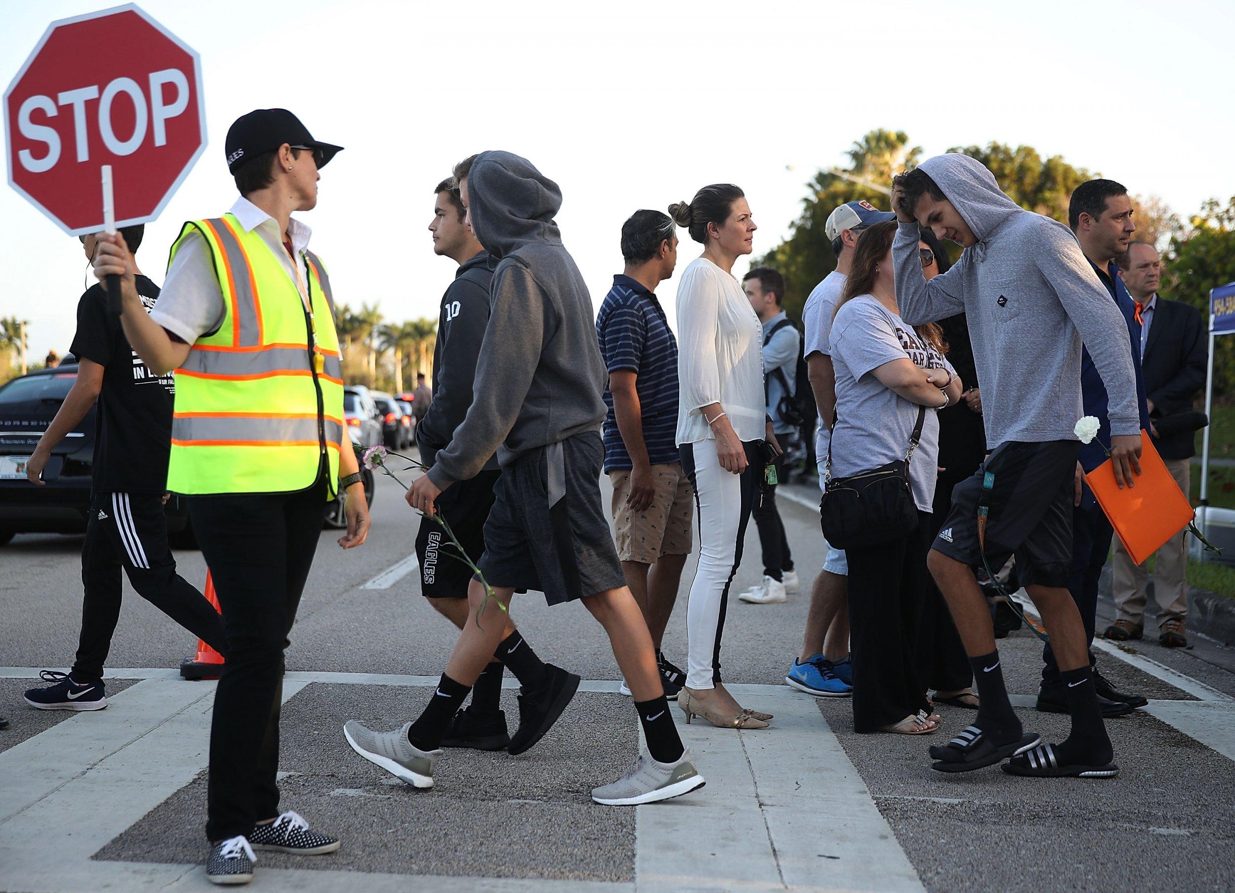 parkland students return to school