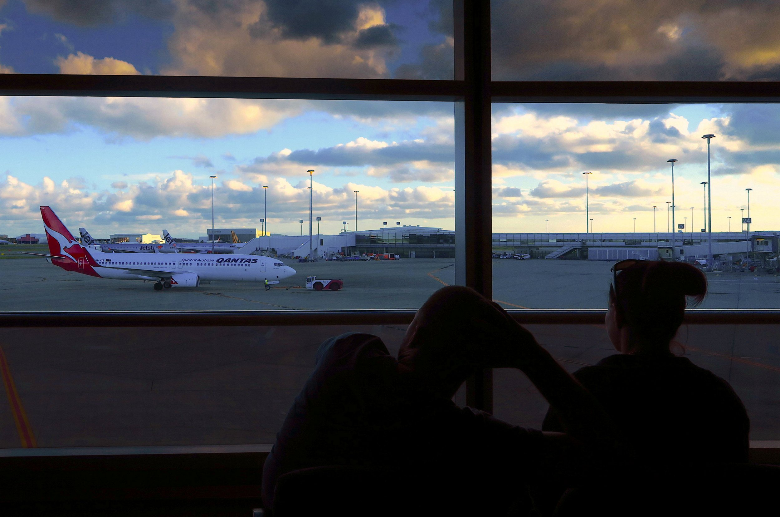 Brisbane airport Quantas