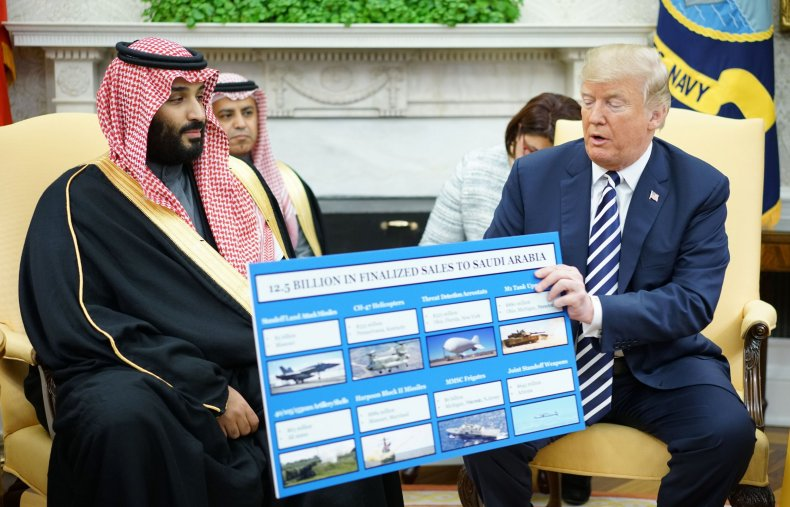 MBS with Trump